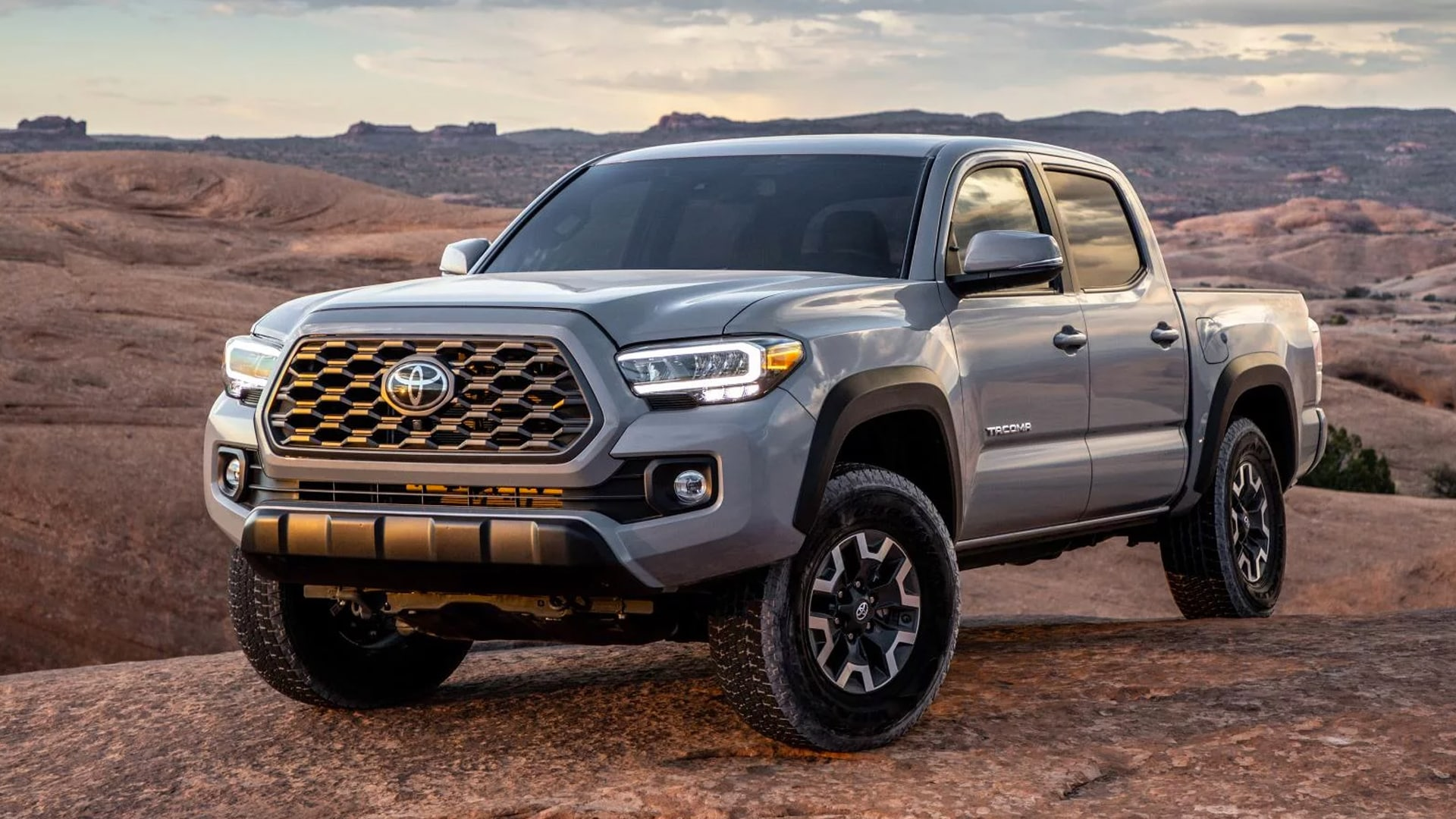 2020 Toyota Tacoma At Courtesy Toyota