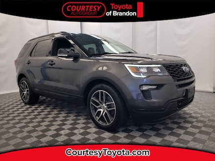 2018 Ford Explorer Sport 4wd LOADED SUV