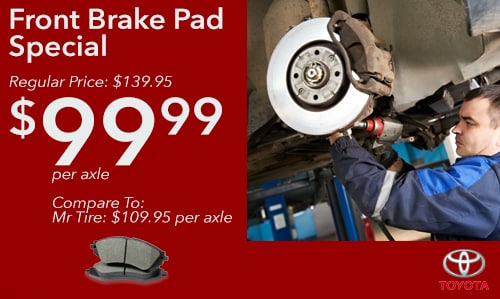 Toyota Brake Coupon