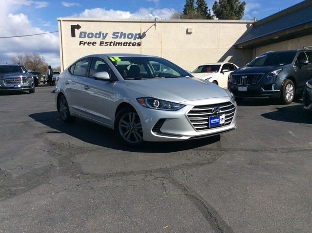 Featured pre-owned vehicles 2018 Hyundai Elantra SEL Sedan for sale near you in Chico, CA