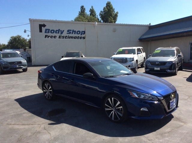 Featured pre-owned vehicles 2019 Nissan Altima 2.5 SR Sedan for sale near you in Chico, CA