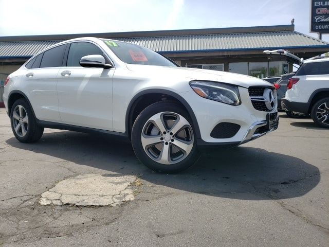 Featured pre-owned vehicles 2017 Mercedes-Benz GLC GLC 300 Coupe SUV for sale near you in Chico, CA