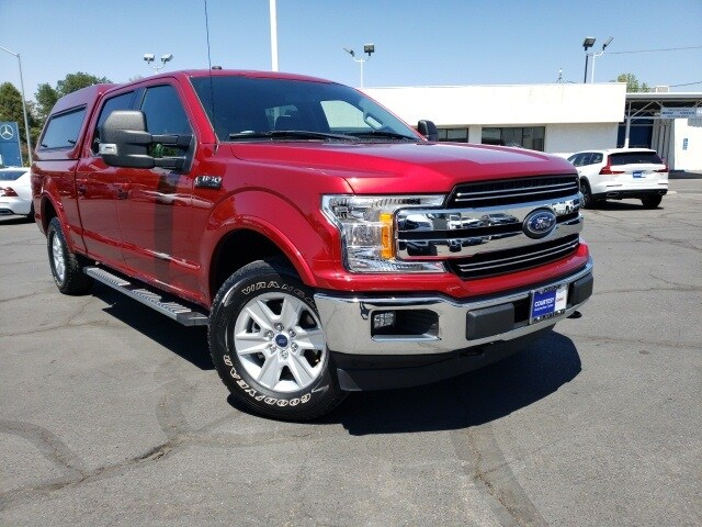 Featured pre-owned vehicles 2018 Ford F-150 Lariat Truck SuperCrew Cab for sale near you in Chico, CA