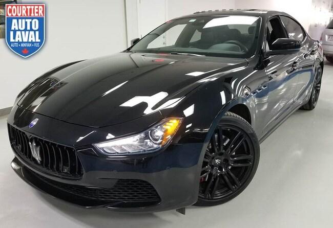2017 Maserati Ghilbi SQ4 Nerissimo Edition! - AWD - 405 HP! Berline
