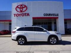 Used 2018 Toyota Highlander Limited V6 SUV near Lafayette, LA