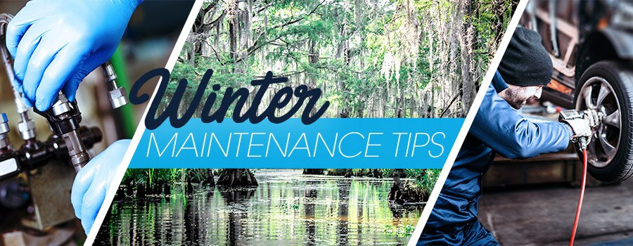 Winter Maintenace Tips From Courvelle Toyota In Lafayette LA