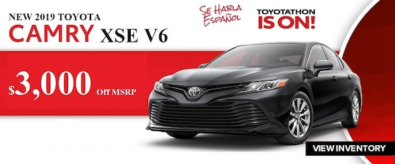 Toyota Finance Deals >> Toyotathon Sale Near Lafayette La Find A New 2019 Toyota In Opelousas
