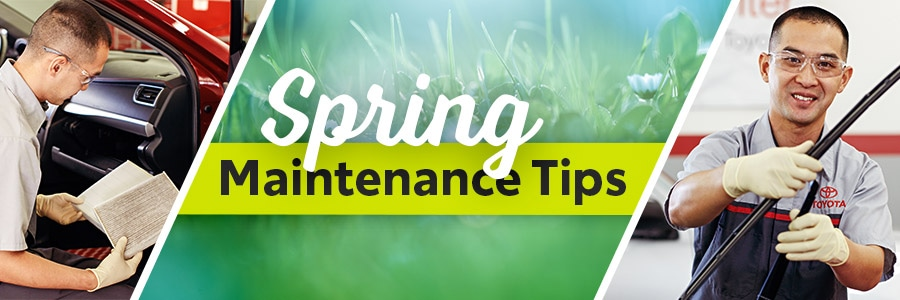 Spring Maintenance Tips From Courvelle Toyota In Lafayette, LA