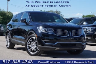 Used 2017 Lincoln MKX Reserve SUV for sale in Austin TX