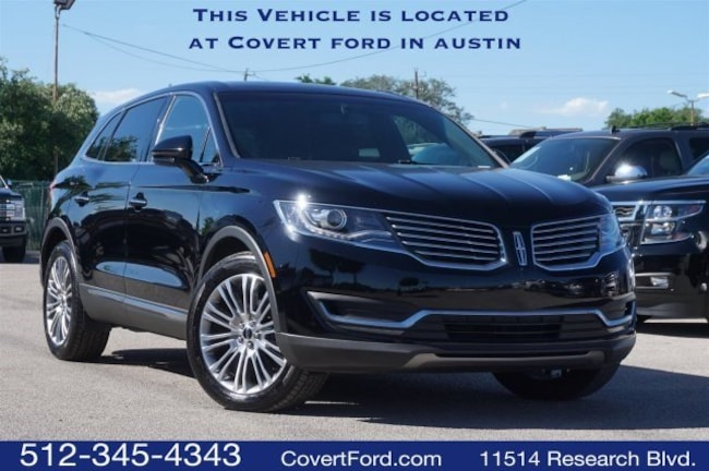 Used 2017 Lincoln MKX Reserve SUV for sale in Austin