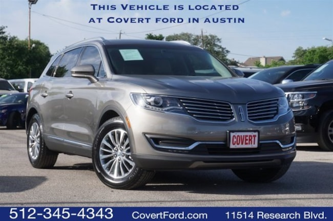 Used 2016 Lincoln MKX Select SUV for sale in Austin