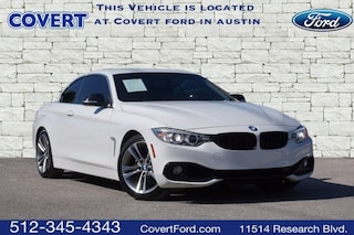 Used 2014 BMW 428i w/SULEV Convertible for sale in Austin TX