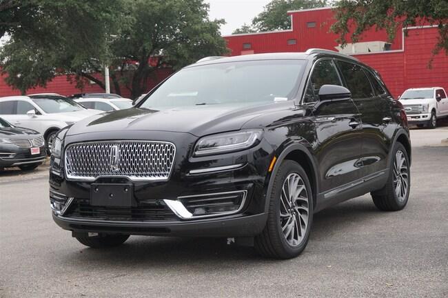 New 2019 Lincoln Nautilus For Sale Austin Tx Stock 4190006