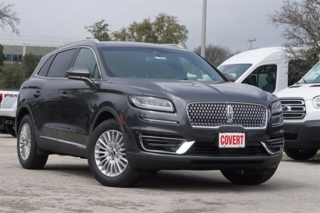 New 2019 Lincoln Nautilus Standard SUV for sale in Austin TX