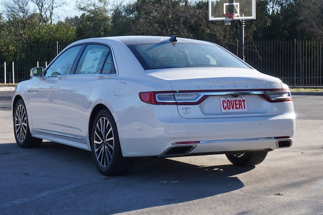 New 2019 Lincoln Continental For Sale Austin Tx Stock 4190031