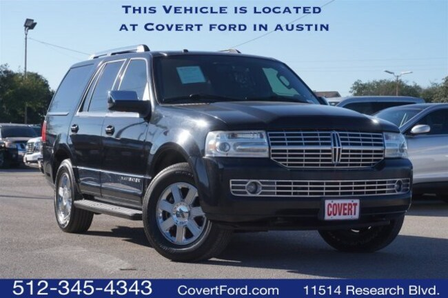 Used 2008 Lincoln Navigator For Sale Austin Tx Stock 4187792a