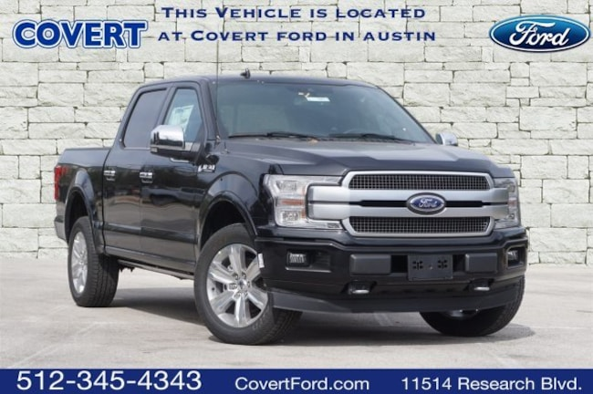 New 2019 Ford F-150 Platinum Truck SuperCrew Cab V-6 cyl in Austin