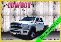 New 2019 Ram 4500 Chassis Cab 4500 TRADESMAN CHASSIS CREW CAB 4X4 197.4 WB Crew Cab for sale in Cheyenne WY