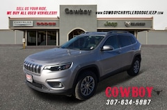 New 2019 Jeep Cherokee LATITUDE PLUS 4X4 Sport Utility for sale in Cheyenne WY