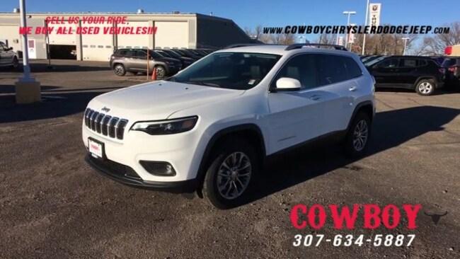2019 Jeep Cherokee LATITUDE PLUS 4X4 Sport Utility