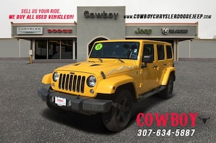 2015 Jeep Wrangler Unlimited Sahara SUV