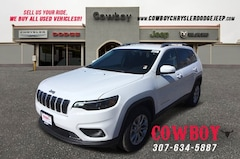 New 2019 Jeep Cherokee LATITUDE 4X4 Sport Utility for sale in Cheyenne WY