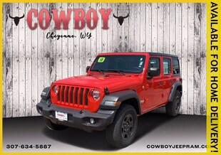 2018 Jeep Wrangler Unlimited Sport 4x4 Convertible