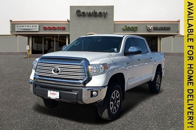 2017 Toyota Tundra 4WD Limited Limited CrewMax 5.5 Bed 5.7L FFV