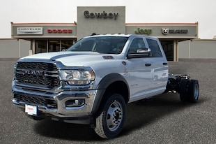 2019 Ram 4500 Chassis Cab 4500 TRADESMAN CHASSIS CREW CAB 4X4 197.4 WB Crew Cab