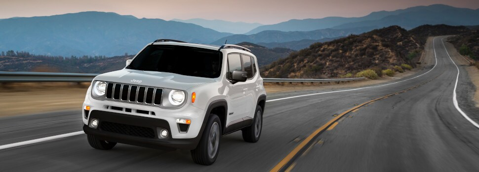 New 2020 Jeep Renegade SUV