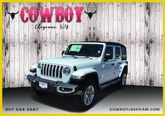 New 2020 Jeep Wrangler UNLIMITED SAHARA 4X4 Sport Utility for sale in Cheyenne WY