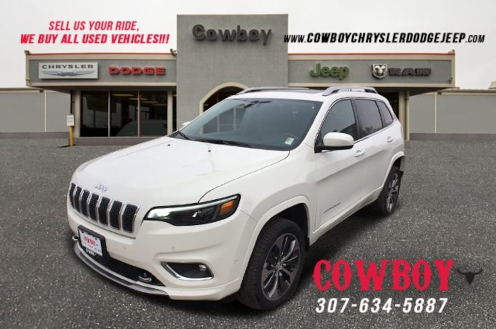 Jeep Cherokee Overland >> New 2019 Jeep Cherokee Overland 4x4 For Sale In Cheyenne Vin 1c4pjmjn5kd372605