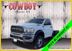 New 2019 Ram 5500 Chassis Cab 5500 TRADESMAN CHASSIS REGULAR CAB 4X4 144.5 WB Regular Cab for sale in Cheyenne WY