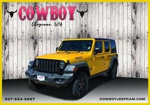 2020 Jeep Wrangler UNLIMITED WILLYS 4X4 Sport Utility