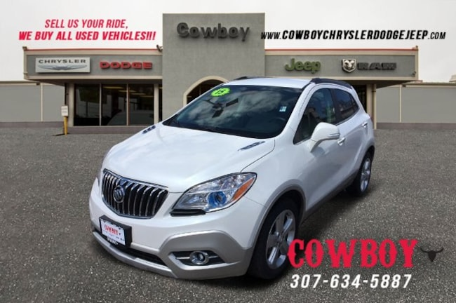 2015 Buick Encore Convenience >> Used 2015 Buick Encore Convenience For Sale Cheyenne Wy