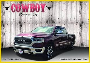 2019 Ram All-New 1500 LIMITED CREW CAB 4X4 6'4 BOX Crew Cab