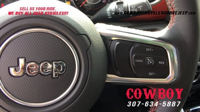 New 2019 Jeep Wrangler UNLIMITED RUBICON 4X4 For Sale In Cheyenne |  VIN:1C4HJXFG5KW607427