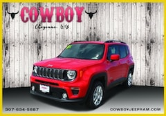 New 2020 Jeep Renegade LATITUDE 4X4 Sport Utility for sale in Cheyenne WY
