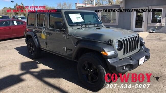 New 2019 Jeep Wrangler For Sale at Cowboy Dodge Chrysler Jeep Ram | VIN:  1C4HJXDG2KW623152