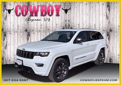 New 2021 Jeep Grand Cherokee 80TH ANNIVERSARY 4X4 Sport Utility for sale in Cheyenne WY