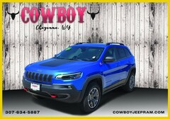New 2020 Jeep Cherokee TRAILHAWK 4X4 Sport Utility for sale in Cheyenne WY
