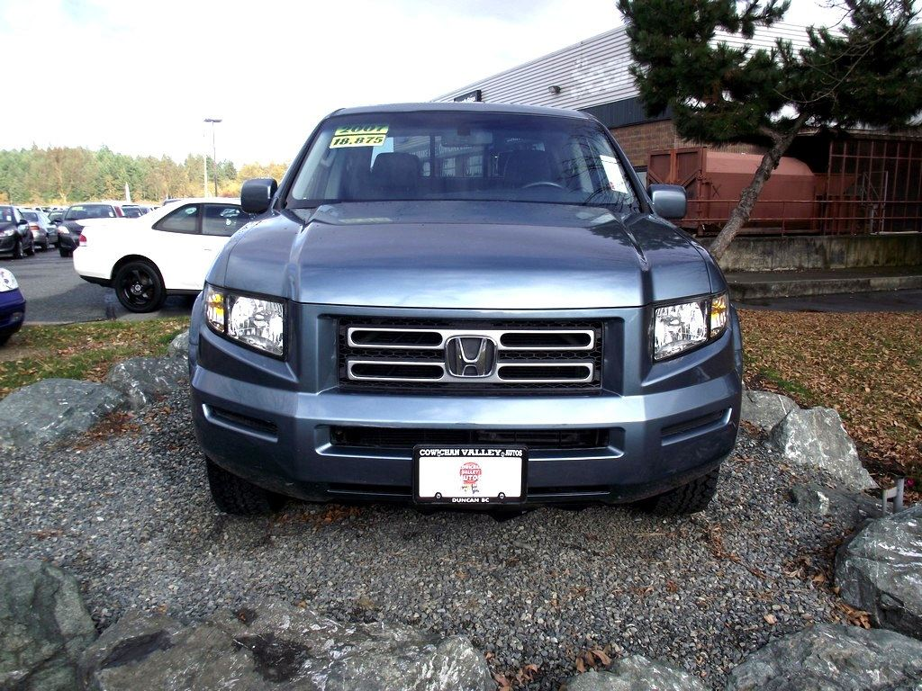 Superb ... 2007 Honda Ridgeline EX L   New Tires, New Timing Belt Truck Crew Cab  ...