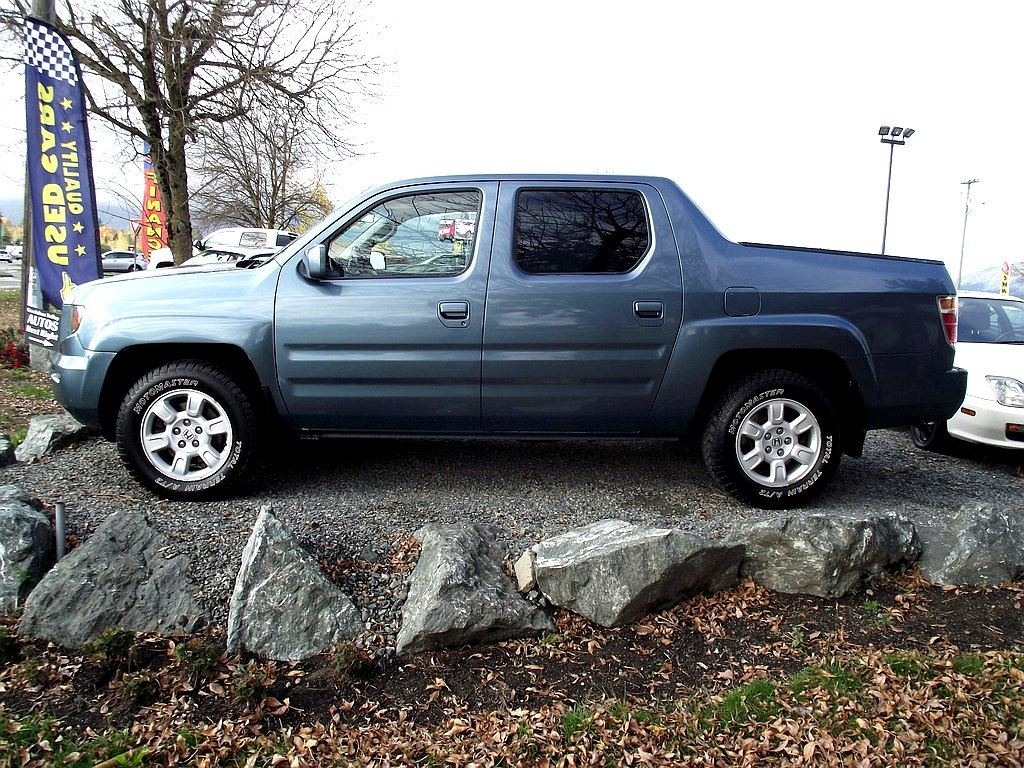... 2007 Honda Ridgeline EX L   New Tires, New Timing Belt Truck Crew Cab  ...