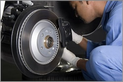 DURASTOP BRAKE PADS WITH FREE ROTOR INSPECTION.