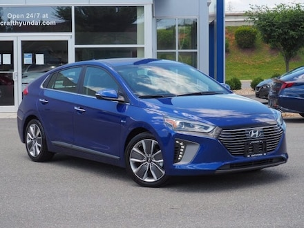 Featured Pre-Owned 2019 Hyundai Ioniq Hybrid Limited Hatchback for sale near you in Lynchburg, VA