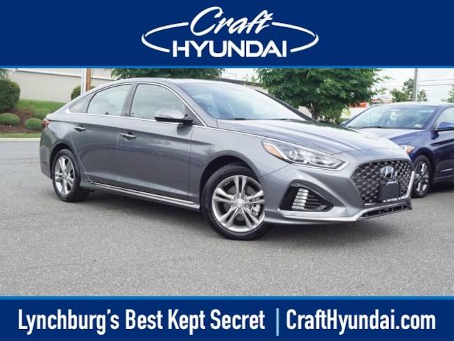 new Hyundai vehicle 2018 Hyundai Sonata Sport+ Sedan for sale near you in Lynchburg, VA