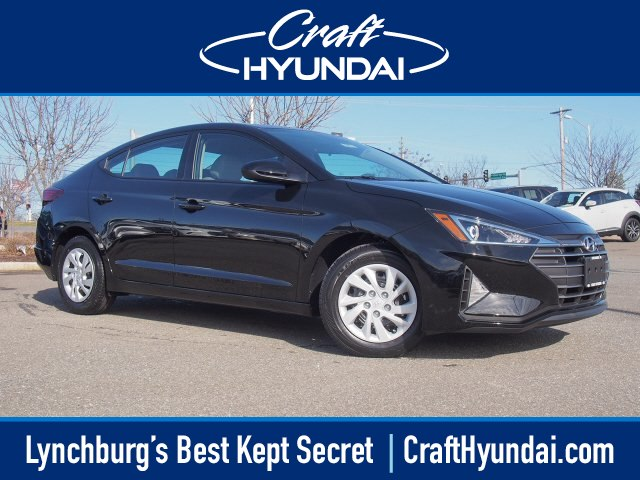 Featured new Hyundai cars and SUVs 2019 Hyundai Elantra SE Sedan for sale near you in Lynchburg, VA