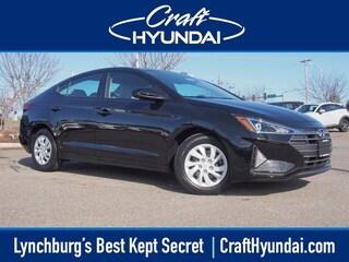 New 2019 Hyundai Elantra SE Sedan for sale near you in Lynchburg, VA