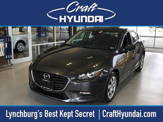 Featured Pre-Owned 2018 Mazda Mazda3 Sport Sedan for sale near you in Lynchburg, VA