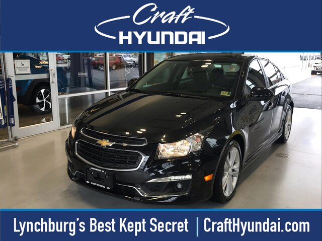Featured Pre-Owned 2016 Chevrolet Cruze Limited LTZ Auto Sedan for sale near you in Lynchburg, VA